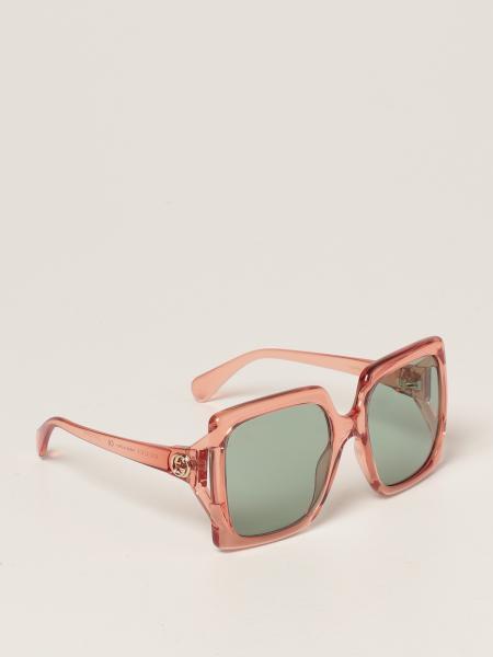 Gucci women: Gucci sunglasses in acetate