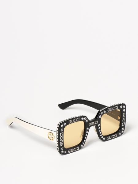 Gucci: Occhiali da sole Gucci con strass