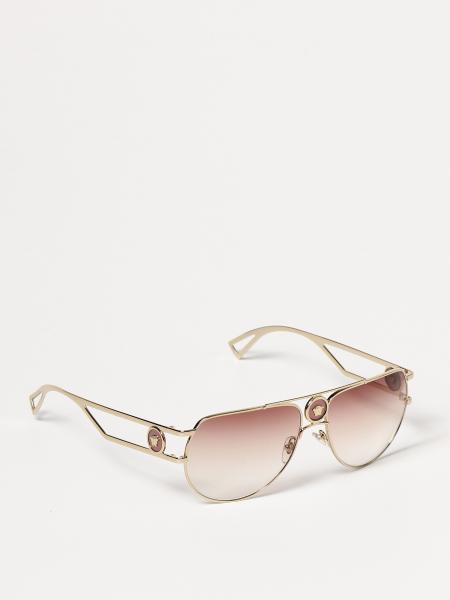 Versace Pilot Medusa Sunglasses