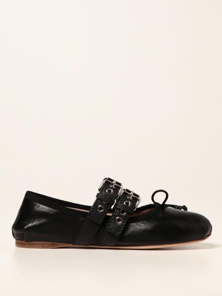 Miu Miu 女士: 芭蕾平底鞋 女士 Miu Miu