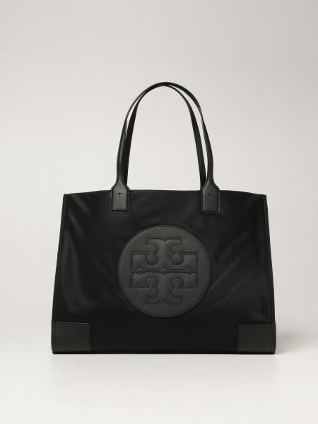 Ella Tote Tory Burch nylon bag with emblem