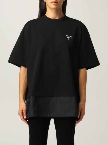 Prada donna: T-shirt donna Prada