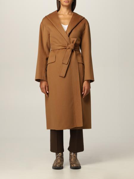 Cappotto a vestaglia S Max Mara in lana