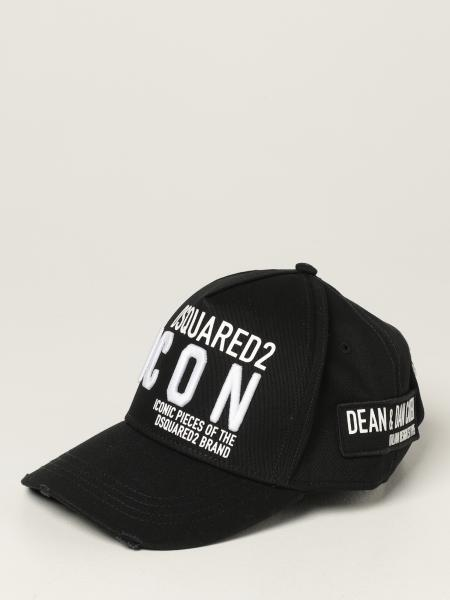 Dsquared2 men: Dsquared2 baseball cap with embroidered logo