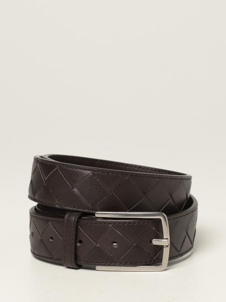 Bottega Veneta men: Bottega Veneta belt in woven leather