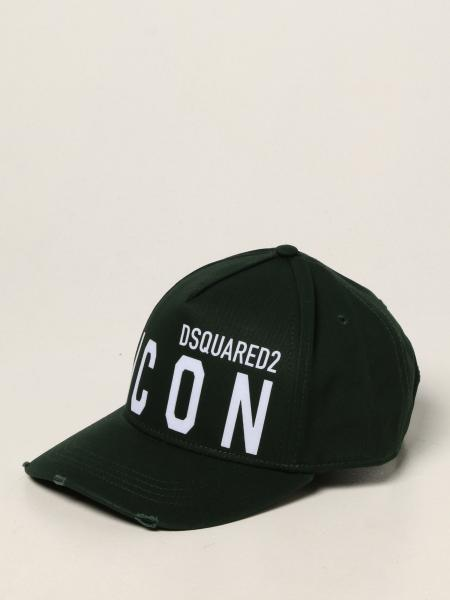 Dsquared2 men: Dsquared2 hat with Icon logo