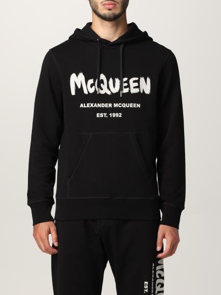 Alexander Mcqueen uomo: Felpa con cappuccio Alexander McQueen