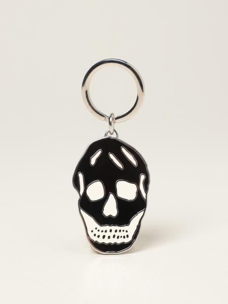 Portachiavi Skull Alexander McQueen in ottone