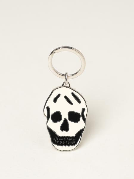 Alexander Mcqueen uomo: Portachiavi Skull Alexander McQueen in ottone
