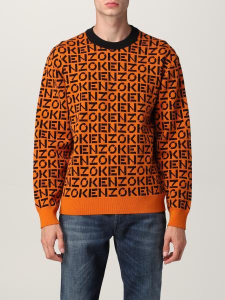 Kenzo uomo: Maglia Kenzo con logo all over