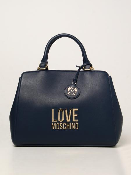 Borsa Love Moschino in pelle sintetica con logo