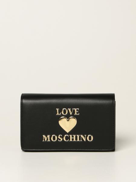 Borsa a tracolla Love Moschino con logo