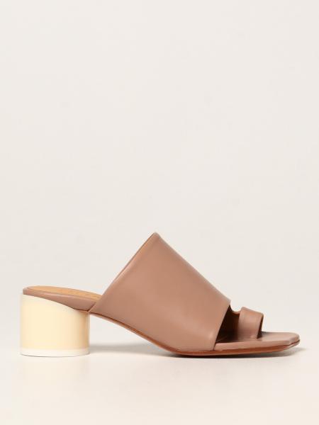 MM6 Maison Margiela leather sandal