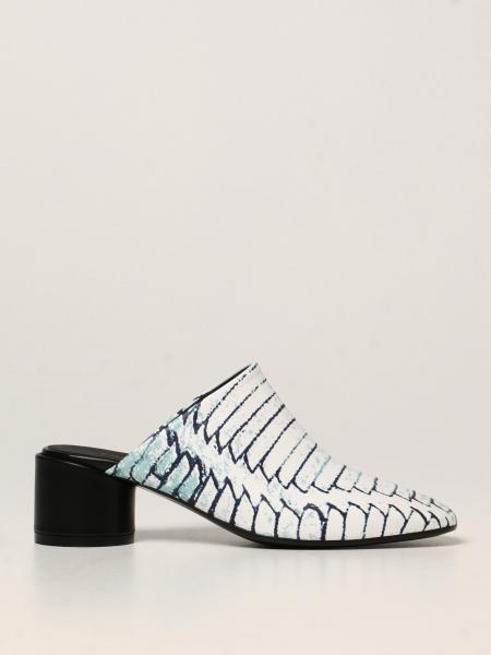MM6 Maison Margiela sabot in printed leather