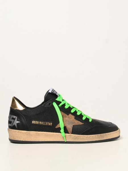 Ball Star Golden Goose sneakers in leather and mesh