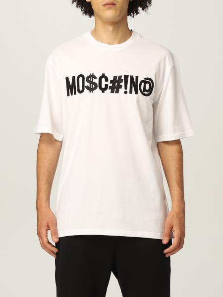 Moschino: Moschino Couture Logo 印花T 恤