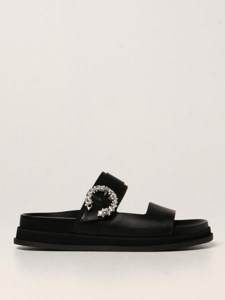 Sandalo flat Marga Jimmy Choo in pelle