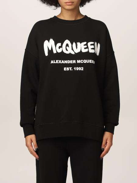 Alexander Mcqueen femme: Sweat-shirt femme Alexander Mcqueen
