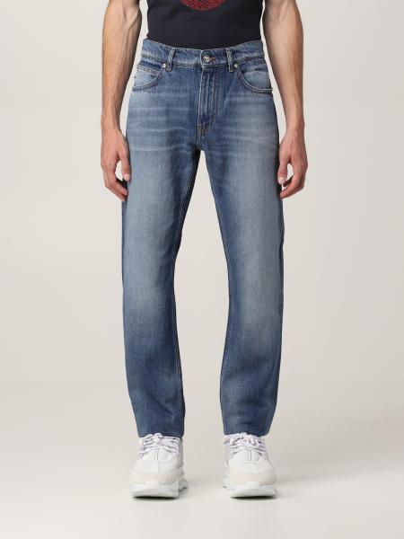 Versace men: Versace jeans in washed denim