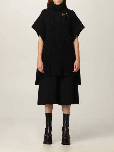 Mantella Versace in lana
