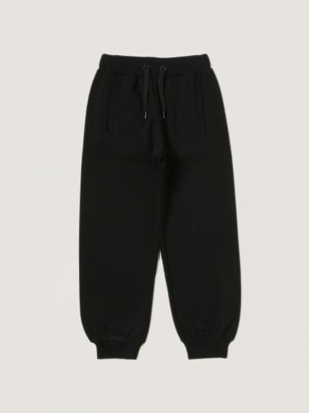 Pantalone jogging Fendi in cotone garzato