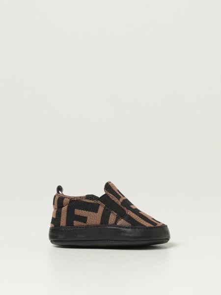 Fendi cradle shoes with FF monogram