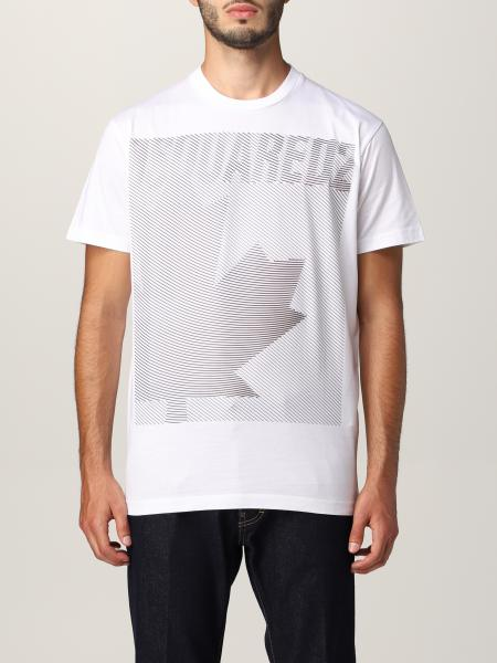 Dsquared2 cotton T-shirt with graphic print