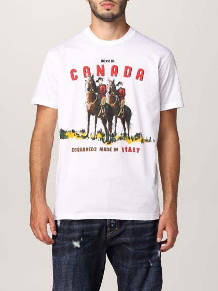 Camiseta hombre Dsquared2