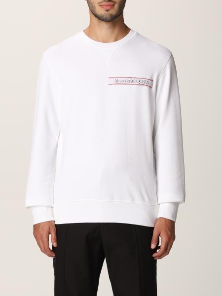 Alexander McQueen cotton sweatshirt with logo