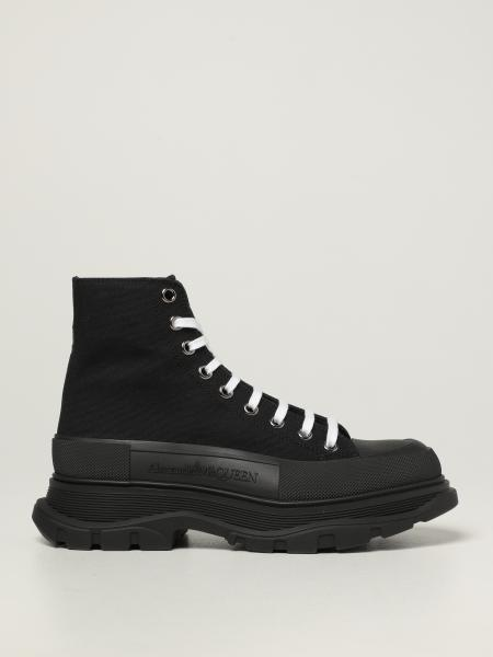 Alexander McQueen ankle boot in canvas