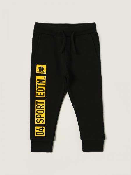 Pantalone jogging Dsquared2 Junior con logo