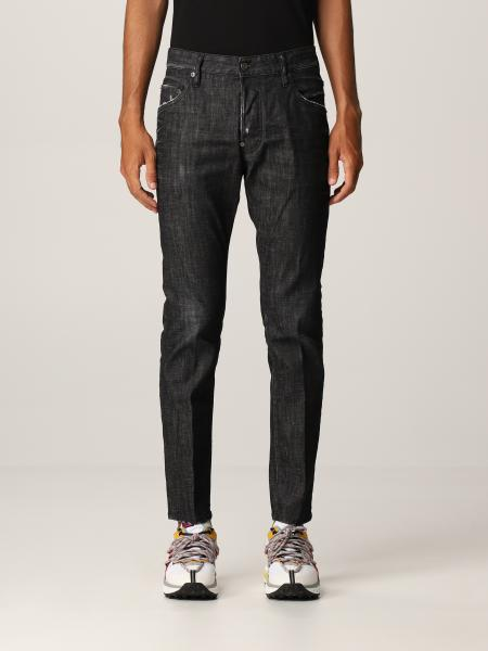 Jeans skinny Skater Dsquared2 in denim washed