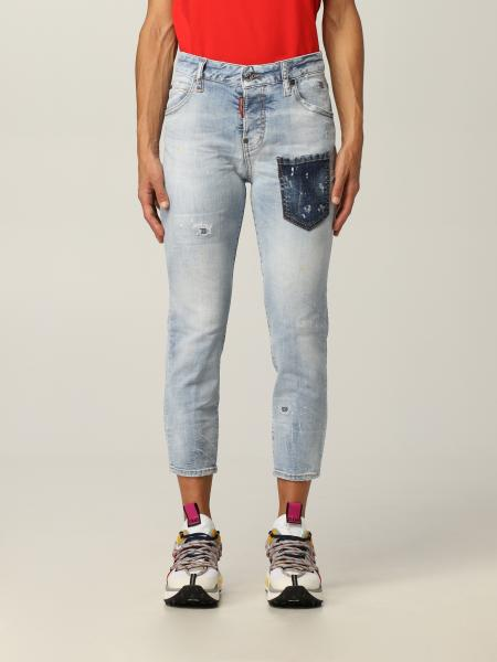 Jeans Dsquared2 in denim washed