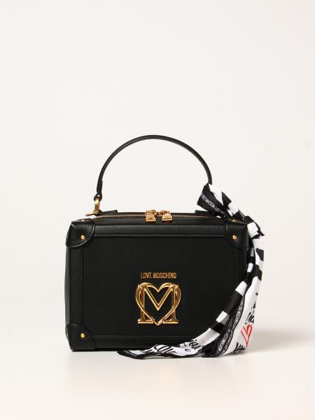 Love Moschino 女士: Love Moschino Logo 合成皮革手袋
