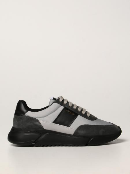 Sneakers Axel Arigato in pelle tessuto e camoscio