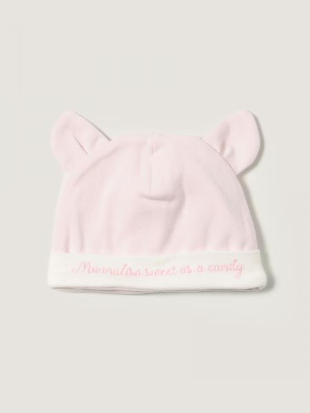 Monnalisa cotton hat with ears