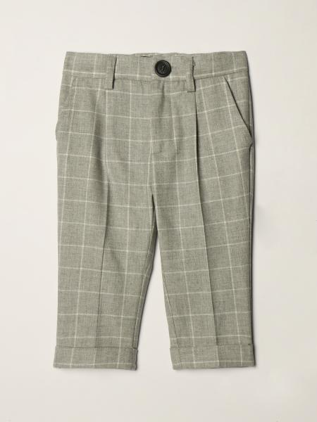 Monnalisa trousers in cotton blend