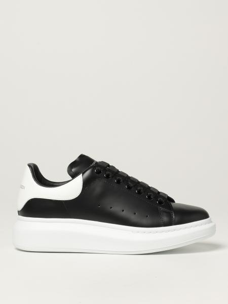 Larry Alexander McQueen leather sneakers