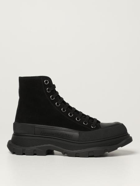 Alexander McQueen ankle boot in suede