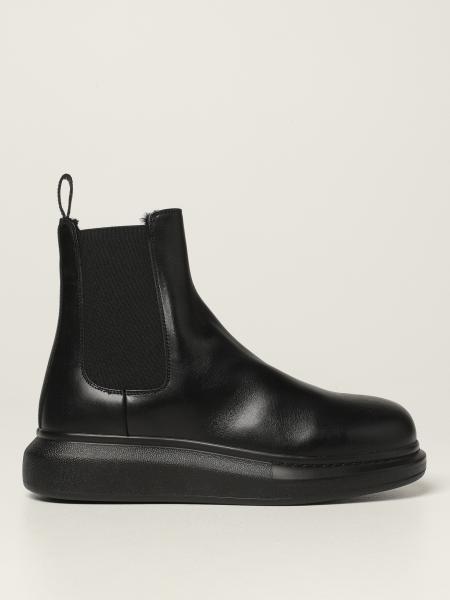 Alexander McQueen Chelsea boot in leather