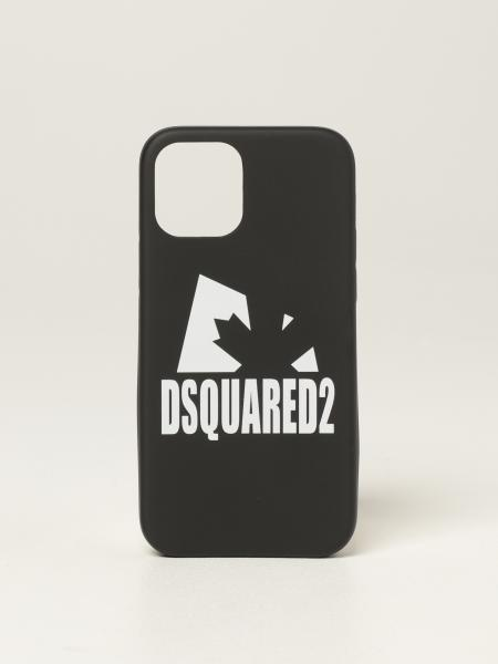 Dsquared2 men: Dsquared2 iPhone 12 cover with logo