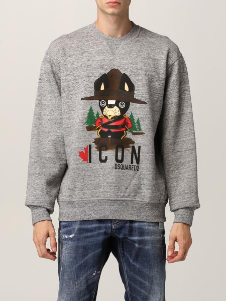 Dsquared2 sweatshirt with animation print
