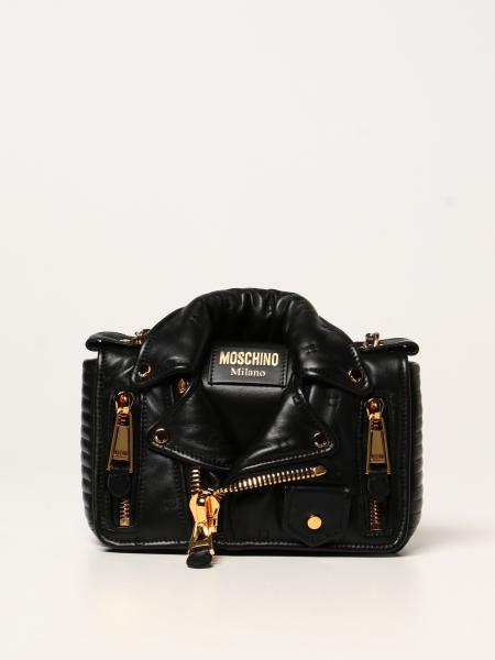 Moschino Couture biker bag in nappa leather