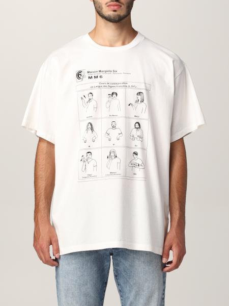 Mm6 Maison Margiela: T-shirt donna Mm6 Maison Margiela