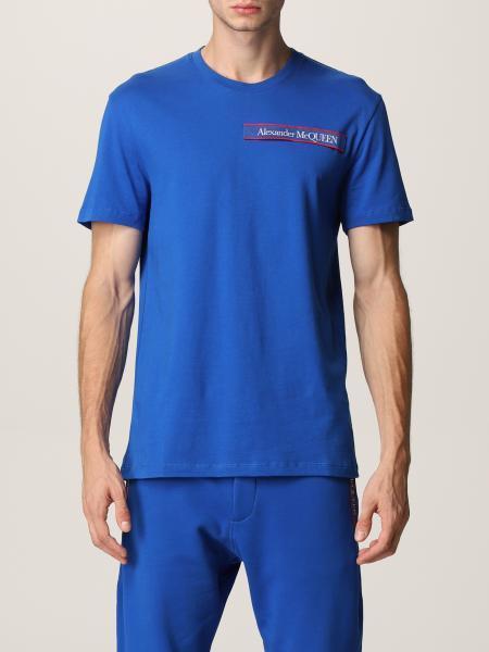 T-shirt Alexander McQueen con logo