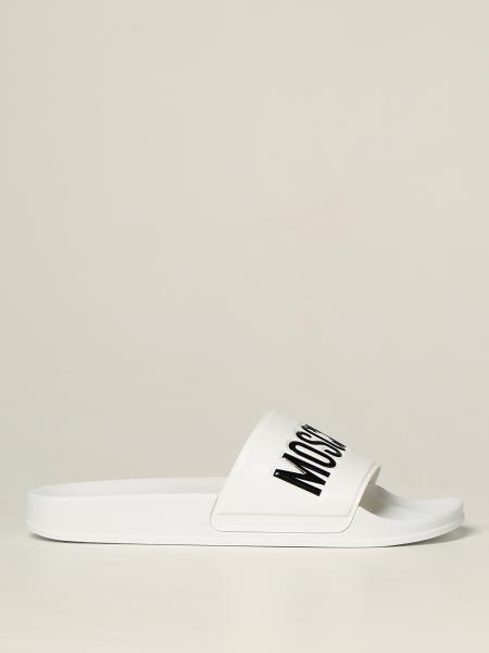 Moschino Couture slipper sandals in pvc