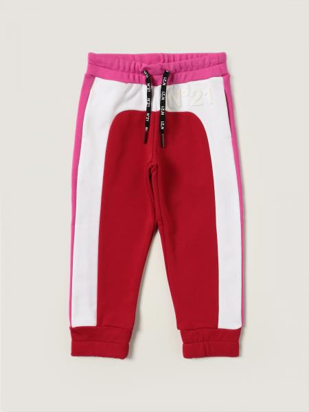 Tricolor N ° 21 jogging trousers