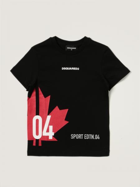 T-shirt Dsquared2 Junior in cotone con logo