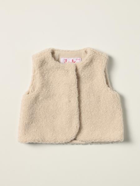 Il Gufo vest in synthetic fur