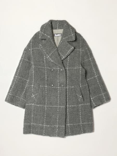 Monnalisa coat in wool blend